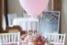 Baloon flower arrangements