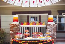 """Fire Truck"" Themed Party  / Definitely in the future."