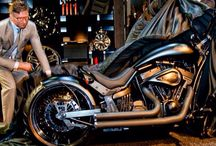 A. Kahn & Lauge Jensen / The Worlds first limited edition motorcycle designed by A. Kahn Design