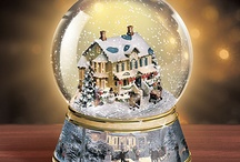 snow globes / by Wendy George Totos
