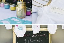 Shower Ideas Baby/Wedding / by Sammi Merkulov