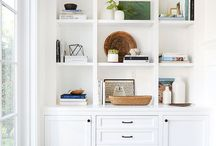 Bookcase + Shelf Styling