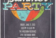 Summer Party Ideas / Our Party!