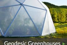 Geodesic Dome Greenhouses / Geodesic Domes are a natural for energy efficient greenhouses for the gardener.