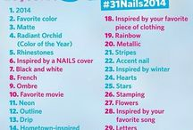 31 DAY CHALLENGE JANUARY #31Nails2014
