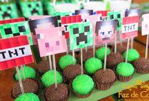 Minecraft Emanuel festa