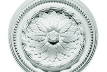 Medallions, Rims, Rosettes and Domes / Beautiful details make our medallions, rims, rosettes and domes ideal for any setting.