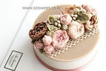 Korean Cakes Flower