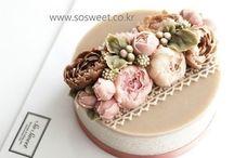 Korean Cakes Flower