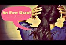 Easy Work Hair / by Geneva Warden
