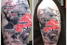 tatuaz domek