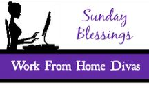 Sunday Blessings / This board is a collaboration of the Work from Home Divas Network Group! On Sundays we share all of our inspirational, spiritual pins! A fun way to settle in before the work week!
