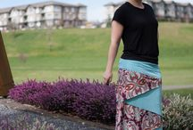 Conifer Skirt / Conifer Skirts sewn by sewists like you! Pattern by SeamstressErin Designs. / by SeamstressErin Designs