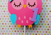 Pink Owl birthday party theme