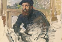 Monsieur Monet / World famous French artist / by Kathryn (Kitty) Wenke