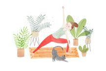 yoga prints