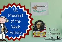Learning About US Presidents / Ideas for teaching & learning about the US Presidents for elementary students / by Kimberly Rendel
