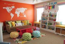 Craft/play room