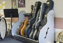 School Instrument Storage / This board features pictures of school instrument #storage units from our sister site https://www.BandStorage.com.