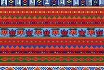 desenhos étnicos