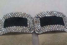Vintage Jewelry Antique Vintage Shoe Clips / by Vintage House Boutique