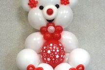 palloncini animali orsetto