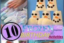 Frozen / by Vicki O'Neal