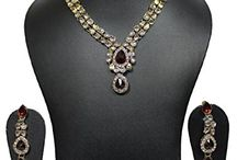 Ethnic Indian Bollywood Kundan Necklace Set