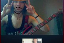 Skype Guitar Lessons / Contact me to schedule a free skype guitar lesson! www.jeffrey-thomas.com / by Jeffrey Thomas