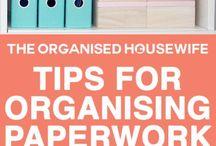 Organizing filing