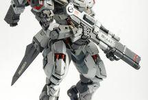 Custom Build Gunpla