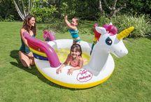 Şişme Çocuk Havuzu Tek Boynuzlu At 272x192x104 Cm Hediyecik.com.tr Online Oyuncak Hediye Alışveriş 7/24 Sipariş 0212 325 24 25
