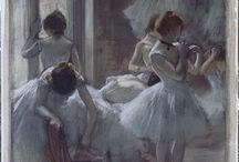 Degas' Dancers / A selection of Degas' works showcasing his fascination with the art of dance, available from around the internet.