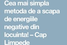 energii negative