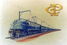 Trens Paulistas e Cia. ( S.P. Railway, E.F.Sorocabana, C.Paulista, Fepasa, RFFSA, etc.