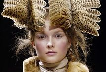 Feathered Headpieces