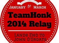 Team Honk Relay for Comic relief