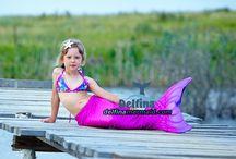Mermaid's tails seria Sea Princess pink