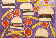 hamburger art / by Casey Collier