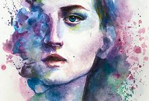 Aquarell / by Sylvie Prefontaine