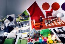 Perne mici pentru schimbări mari   / Cine zice că pernele sunt bune numai pentru un somn bun? Ele sunt perfecte pentru a schimba atmosfera întregii camere. Încearcă și tu.  www.IKEA.ro/fete_perne          / by IKEA Romania