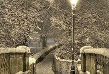 Je adore l'automne et l'hiver