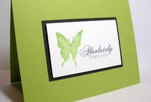 Butterfly Cards / Butterfly Cards