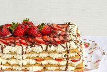 No bake ice box cake