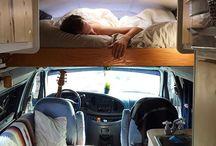 créer  son camping car ' fourgon'