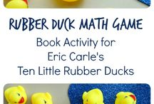 Rubber ducks in my classroom