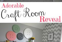 Sewing Rooms / Great ideas for a new or old sewing studio