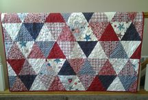Red,White, & Blue Quilts / by Kayla Poling