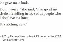 the book I'll never write