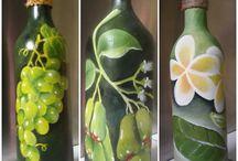 painting bottle